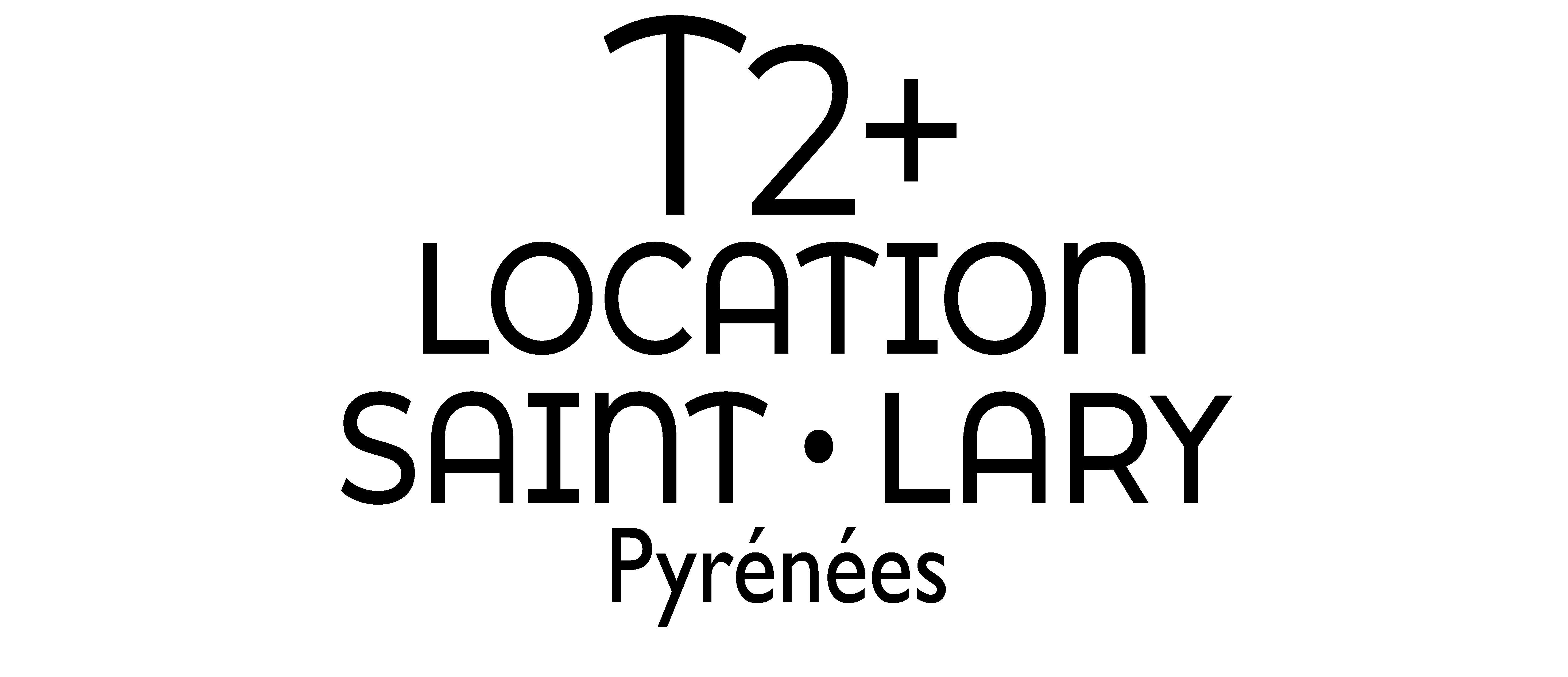 T2+ location  Saint Lary Soulan (Hautes Pyrenees) Logo